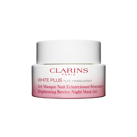 White Plus Brightening Revive Gel - Renewing night care treatment.