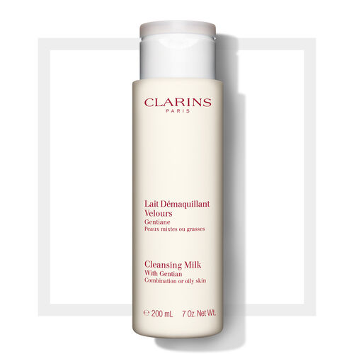 Cleansing Milk with Gentian