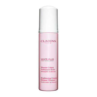 White Plus Pure Translucency Brightening Creamy Mousse Cleanser