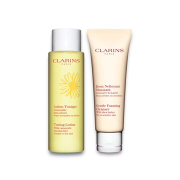 Cleansing Duo - Dry to Senstive Skin Collection