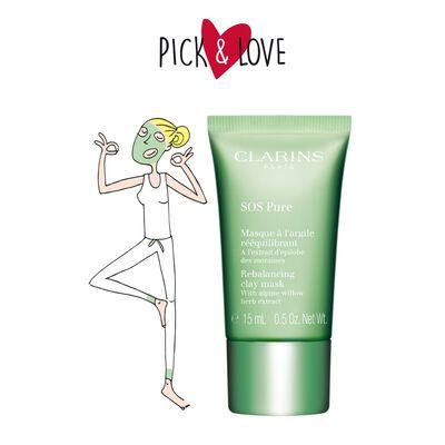 SOS Pure Rebalancing Clay Mask - Combination to Oily Skin