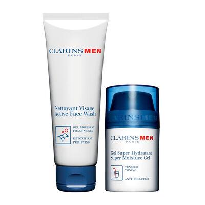 ClarinsMen Grooming Set