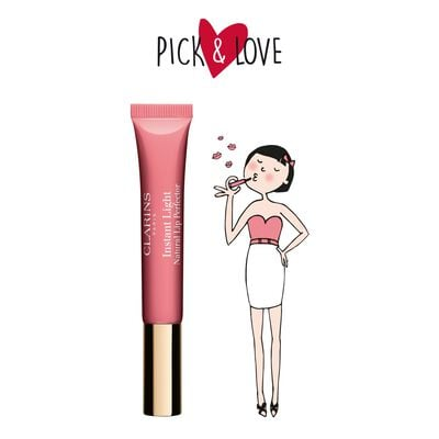 Pick & Love Instant Light Natural Lip Perfector (01) Rose Shimmer