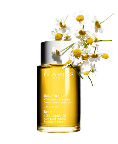 Body Oil with ingredient