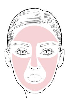 As a make-up base